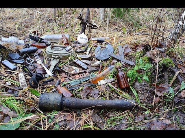 Коп по войне - Блиндаж медиков. часть 1 / Searching with Metal Detector