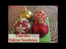 Cupcakes De Esferas Navideñas