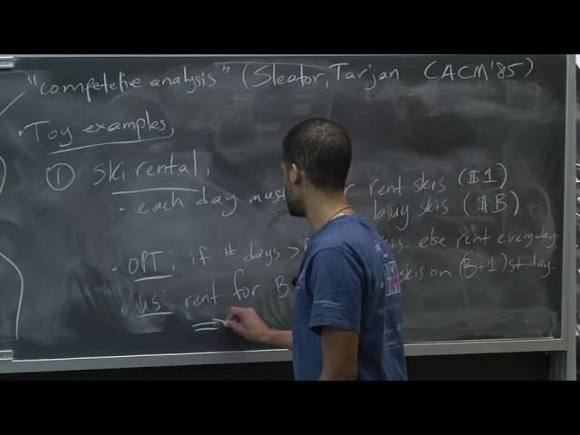 Advanced Algorithms (COMPSCI 224), Lecture 8