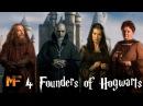 Four Founders of Hogwarts Hogwarts Origins Explained