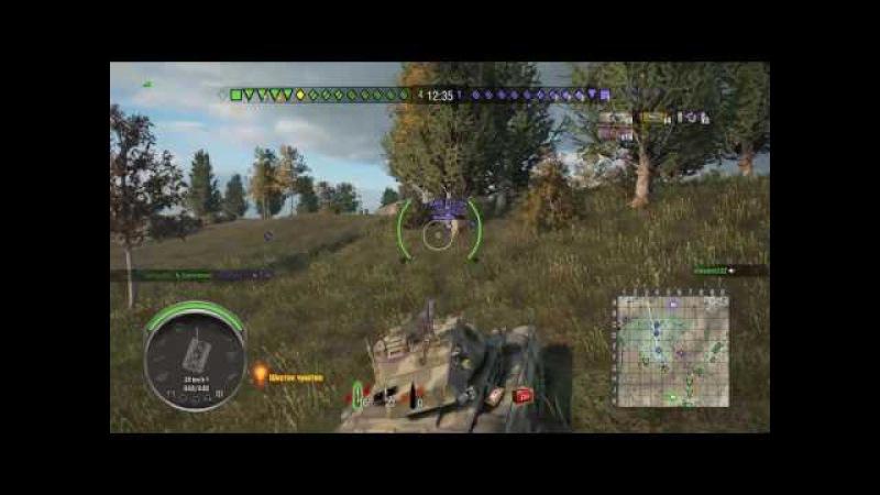 World of Tanks PS4 M24 Chaffee Master на пути к трём отметкам