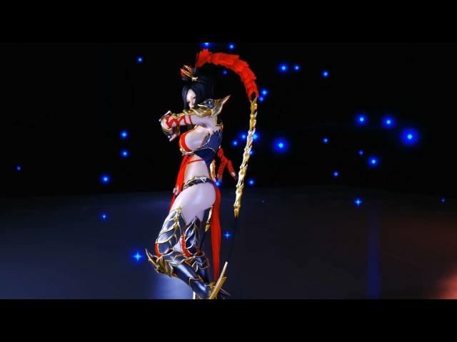 Skyrim dance sanguo blade armor smp test2