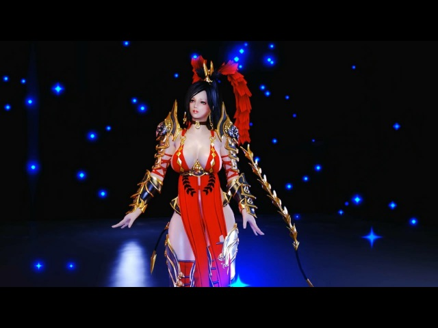 Skyrim dance sanguo blade armor DL