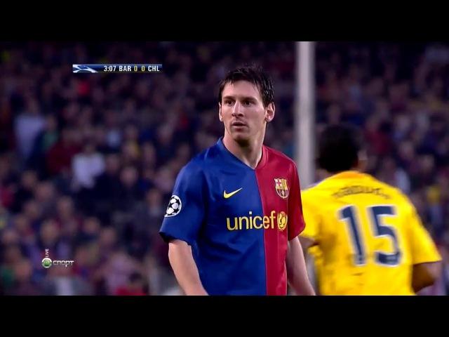 Lionel Messi vs Chelsea (UCL) (Home) 2008-09 HD 720p