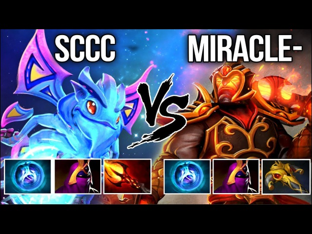 Miracle- Ember Spirit vs Sccc Puck - Solo Mid Dota 2