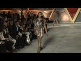 Naomi Campbell on the runway of Fashion for Relief Fashion Show in Cannes