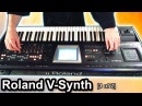 Roland V-Synth GT video review