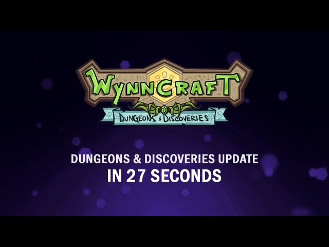 Wynncraft Dungeons Discoveries Update in 27 seconds!