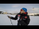 Vlog 16. Doublepolling от Ермила Вокуева, классический спринт, Вершина Теи,