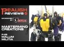 Video Review: Mastermind Creations - R-26 MALUM MILITIA