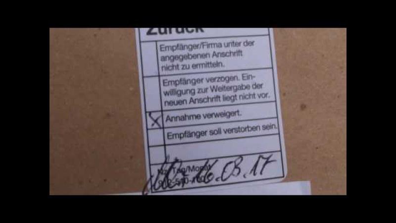 Rechtsbankrott totale ! Amtsgericht Landgericht Stendal verweigern einfach Postannahme