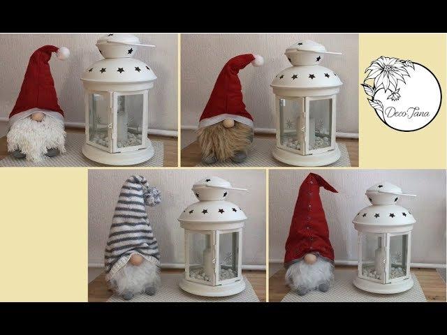 Winterwichtel, Weihnachtswichtel, supersüß, leicht selbst gemacht (have fun)   DecoJana
