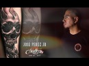 Jose Perez Jr live tattoo