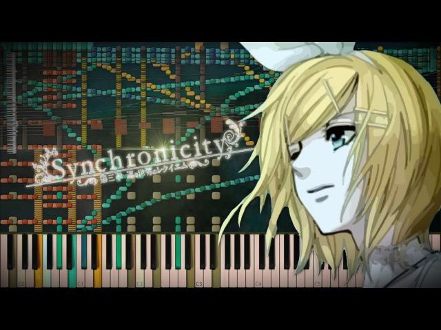 Synthesia: Vocaloid / Synchronicity 3 - Meguru Sekai no Requiem / 巡る世界のレクイエム | 65,000 Notes | MIDI