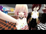 MMD FnafFoxy,Chica,Mangle,Toy Bonnie-But first, let me take a selfie