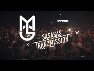 SASASAS @ Tranzmission 2017 [DNB VLOG] - MGTV