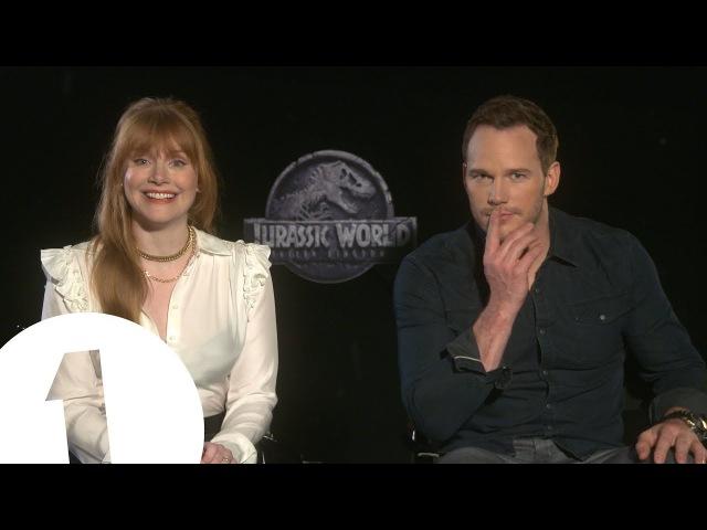 This is classic Jurassic Chris Pratt Bryce Dallas Howard talk Jurassic World 2