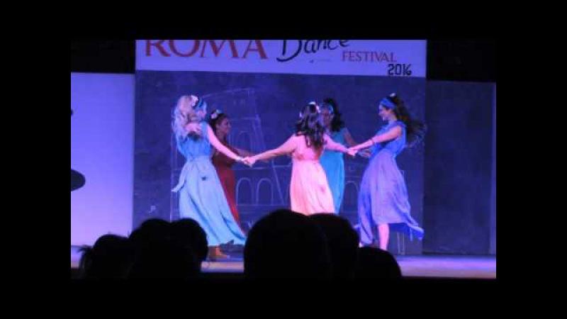Ninfe Nereidi danze antiche@Roma dance Festival - breve danza romana epica Poompei