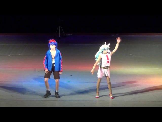 M.O.con 2017: Лея и Люк Скайуокеры (Tengen Toppa Gurren Lagann)