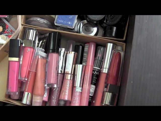 ✦ Мой туалетный столик ✦ Kоллекция и организация косметики / Makeup collection