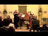 Boismortier J.B. Trio-sonata e minor for violin, cello and basso-continuo