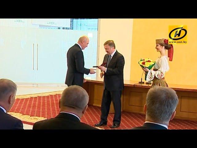 Премьер министр вручил лучшим представителям разных профессий медаль Франциска Скорины