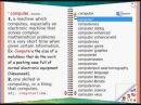 English-English Talking Dictionary