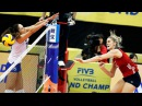 Top 15 Powerful Spikes by Andrea Drews | a Lefty from USA | 2017 Women's World Grand Champions Cup
