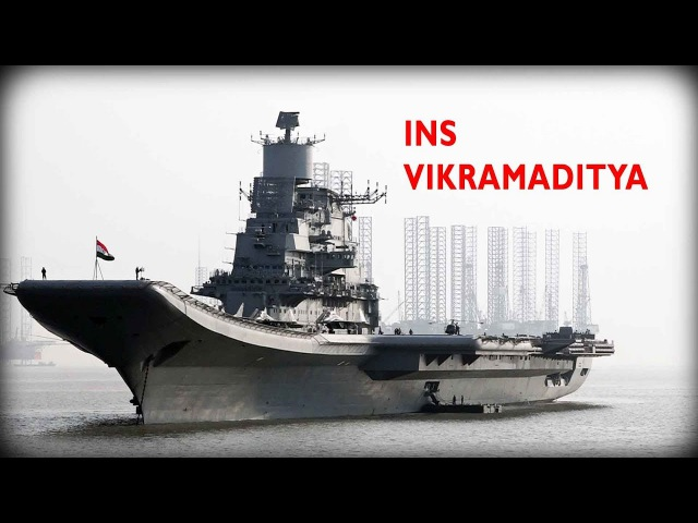Meet Indian Navy's Aircraft Carrier from INS VIKRAMADITYA