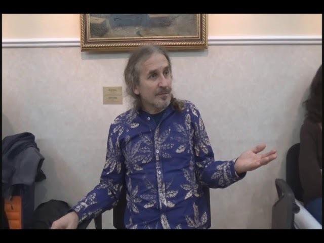 Кому нравится изображать голубя Философский клуб ПсковГУ в Питере часть 2. 25.11.17