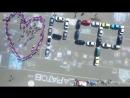 В Саратове из автомобилей выстроили надпись