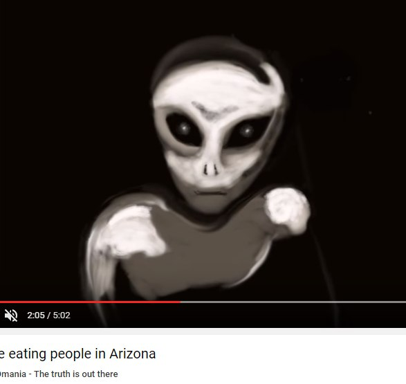 UFOmania: Aliens are eating people in Arizona (Может в этом причина пропажи людей?) FC8Z1ZDhQQw
