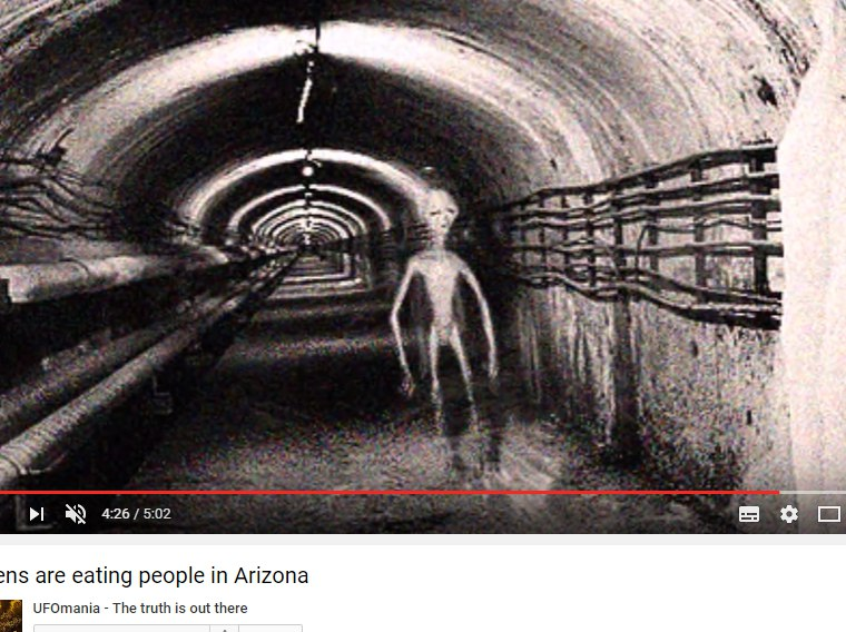 UFOmania: Aliens are eating people in Arizona (Может в этом причина пропажи людей?) 9fte7sMgaKY