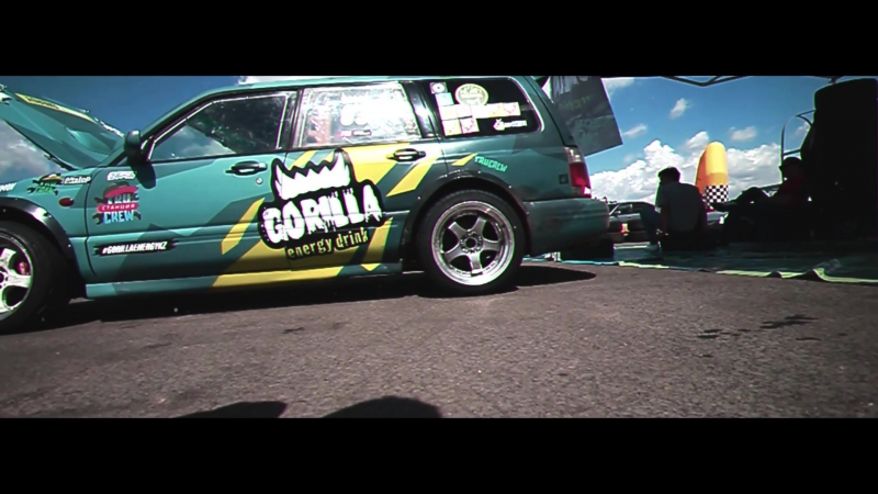 AMW - Gorilla Drift Energy 日本の猫
