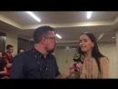 Интервью Наталии для TNT America 20.07.2017