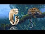 Золотое кольцо леопард