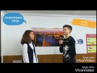 Ilona, Alex, Dariga and Artyom talk about themselves. Level Messages 2. Teacher: Anna Shmulyova.
