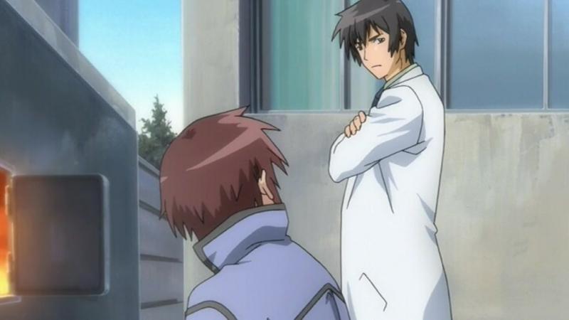 У небі сходить місяць / Looking up at the Half-Moon / Hanbun no Tsuki ga Noboru Sora [03] (2006) [Gwean Di-Vers]