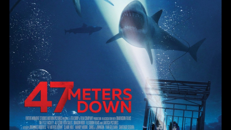 Синяя бездна / 47 метров / 47 Meters Down 2017 Русский Трейлер