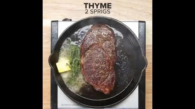 стейк рибай как приготовить в домашних условиях