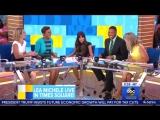 Lea Michele - Good Morning America (Interview) 28.04.17.