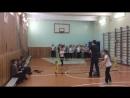 Тренировка по теннису в 1 школе удары справа и слева