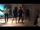 Танец друзей на свадьбе Вани и Ксюши 2 декабря 2017 года