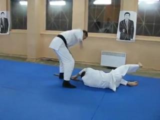 001 защита от удара палкой сбоку в голову