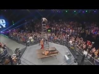 Matt Hardy Brother Nero (w Rebecca Hardy) vs Decay (w Rosemary)