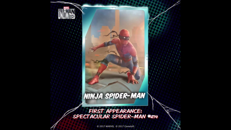 Ninja Spider-Man - Spider-Man Unlimited