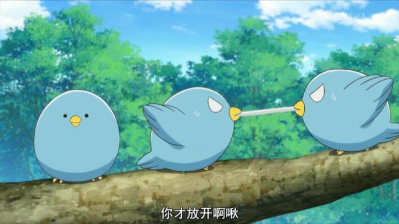 妖怪公寓的幽雅日常 三只两幅面孔的贵人鸟 杉田智和 子安武人 森川智之正经 不是 声线 3