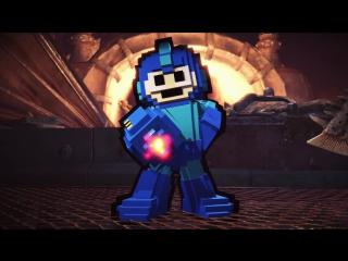 Monster Hunter: World – Броня и оружие Mega Man для Палико
