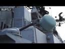 Дутерте осмотрел российский корабль «Адмирал Трибуц» в порту Манилы