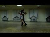 Аргентинское танго в Витебске - импровизация тренеров школы танцев
